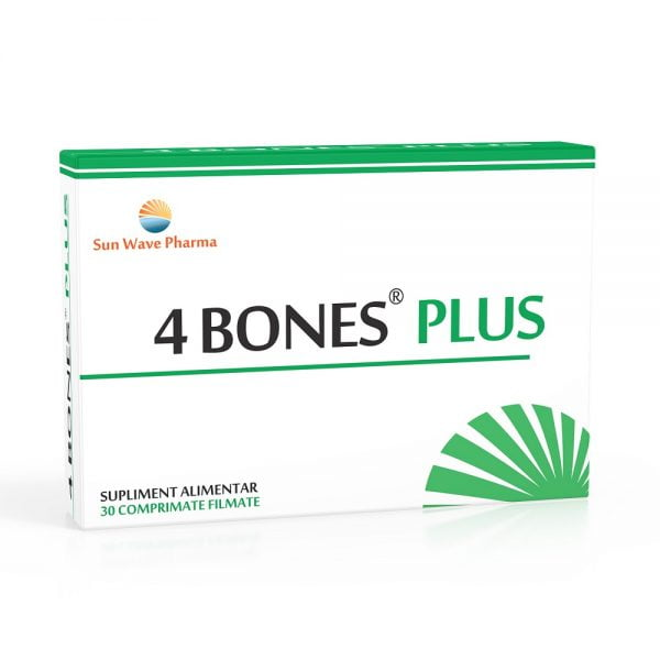 4 Bones Plus 30 comprimate Sun Wave Pharma