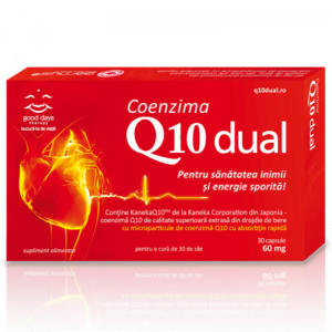 Coenzima Q10 Dual 60mg, 30 capsule, Good Days Therapy